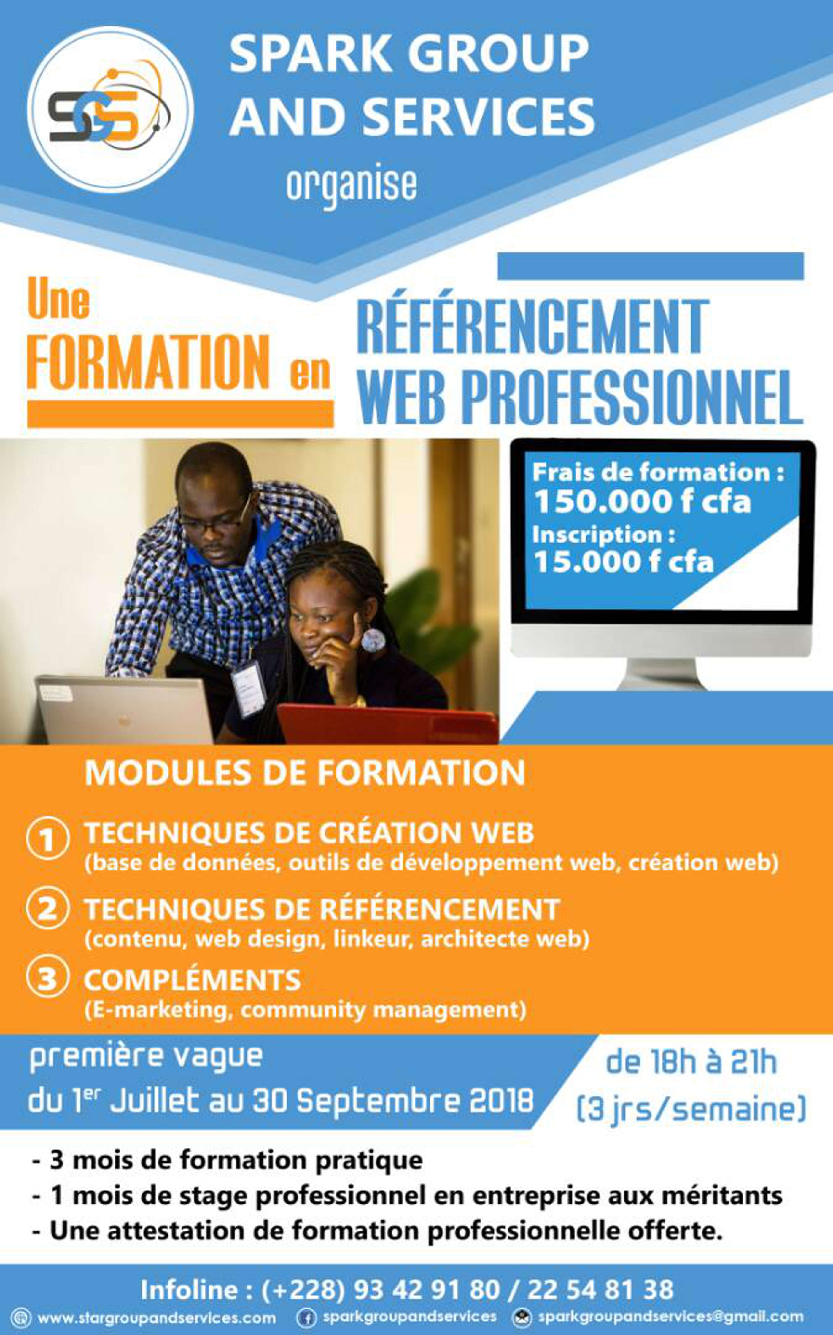 FORMATION EN REFERENCEMENT WEB PROFESSIONNEL