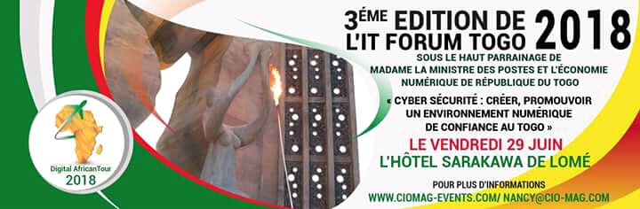 3ème EDITION DE L'IT FORUM TOGO 2018