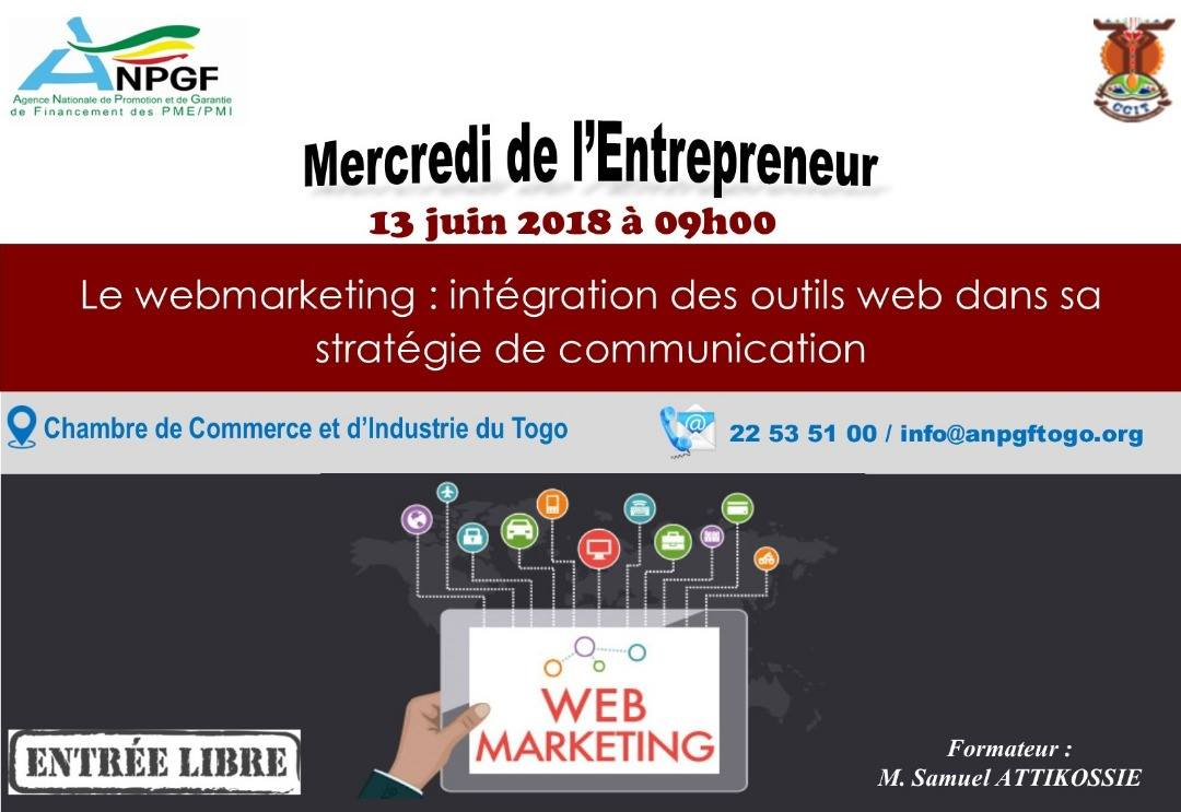 "SPECIALE FORMATION - ""LE WEB MARKETING : INTEGRATION DES OUTILS WEB DANS SA STRATEGIE DE COMMUNICATION"""