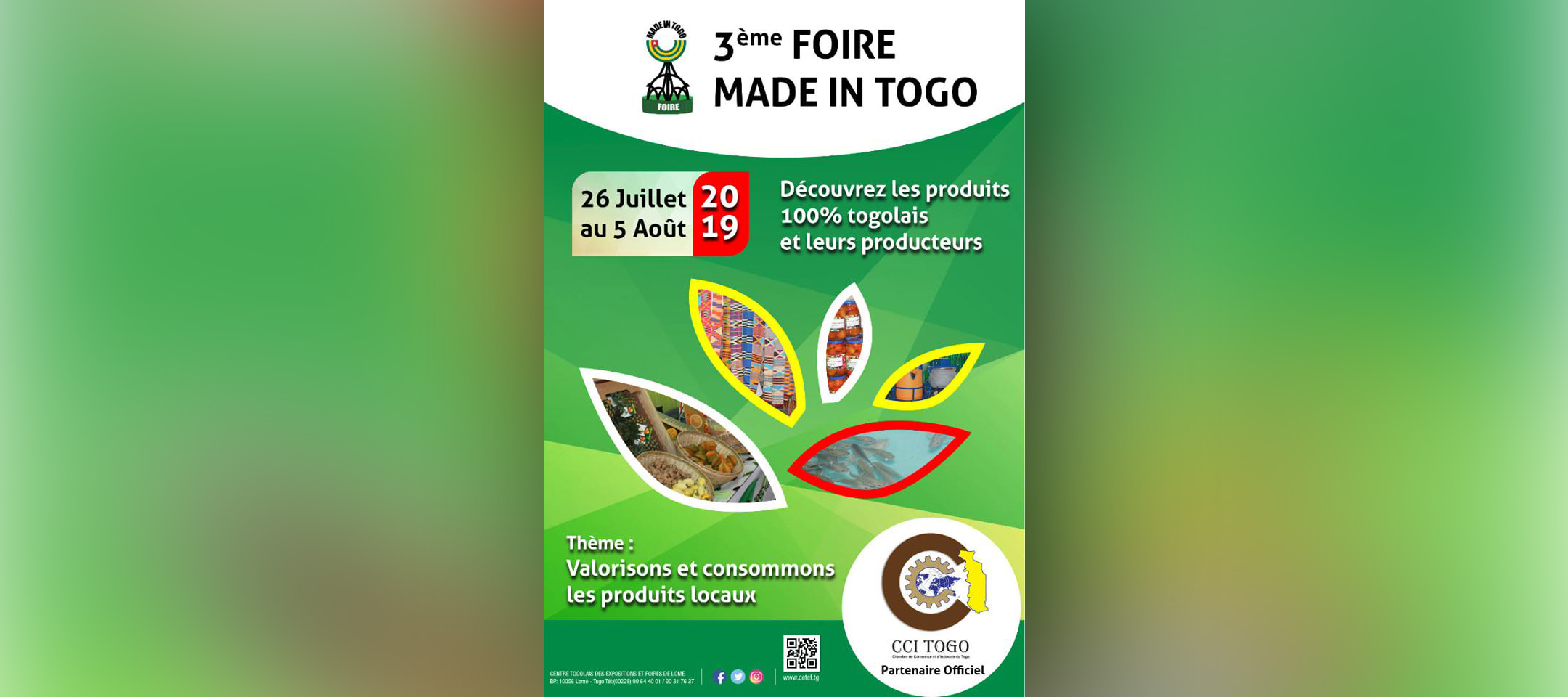 FOIRE MADE IN TOGO – Edition 2019